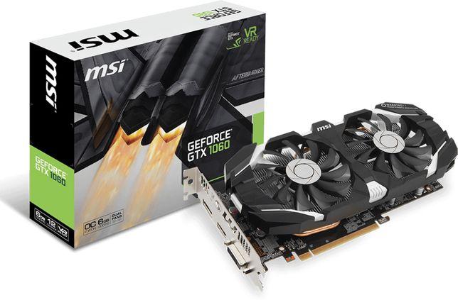 Karta Graficzna MSI Geforce GTX 1060 6GB GDDR5 Gamingowa