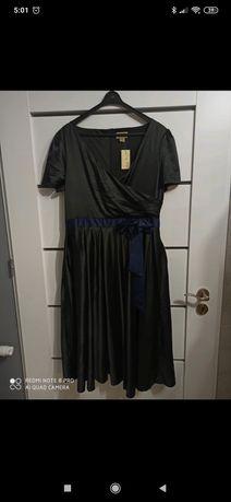 Czarna sukienka Lindy Bop