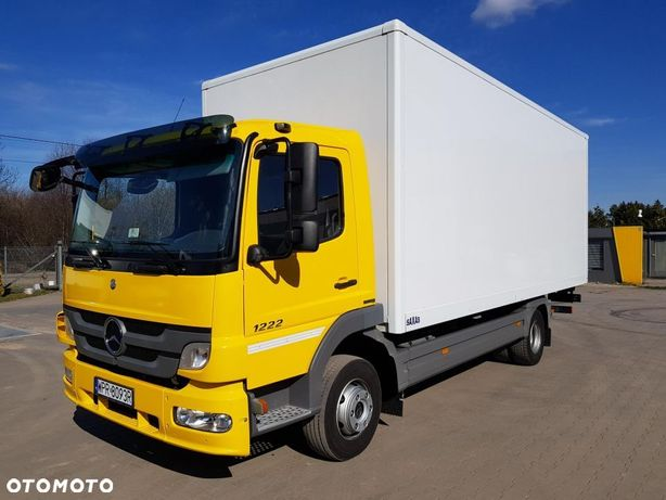 Mercedes-Benz atego 1222  Ładowność 6300 kg