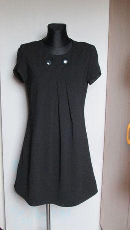 Camaieu elegancka czarna sukienka r. 38