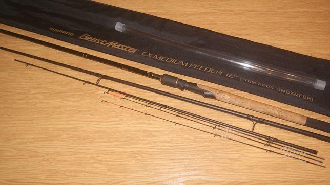 Shimano Beast Master CX medium feeder 3,65m do 100g
