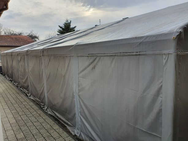 Namiot magazynowy 8m × 16m × 2m , okazja !
