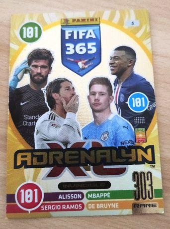 Karta Fifa Andrenalyn 365 edycja 2021 RARE 303