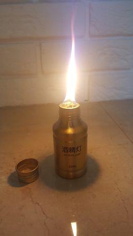 Lampka naftowa pochodnia -przenośna turystyczna