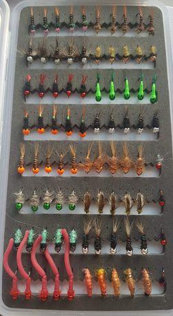 Zestaw 80 sztucznych much