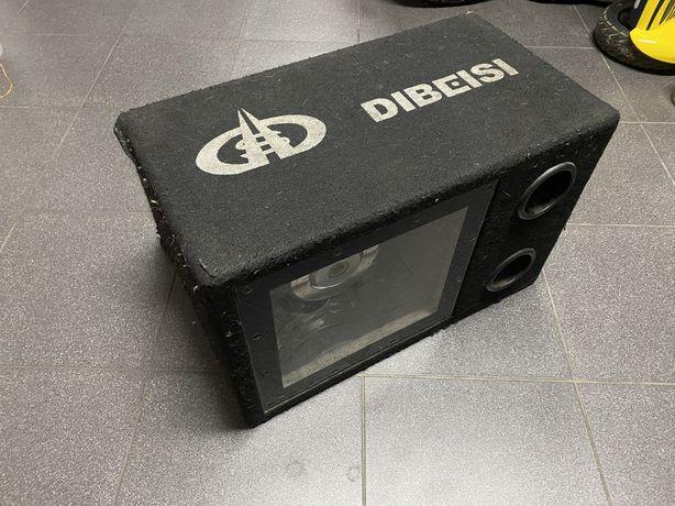 Subwoofer tuba samochodowy 500w dibeisi