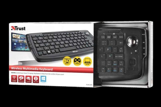 Мультимедийная клавиатура для работы со SmartTV, ноутбуком, PlayStatio