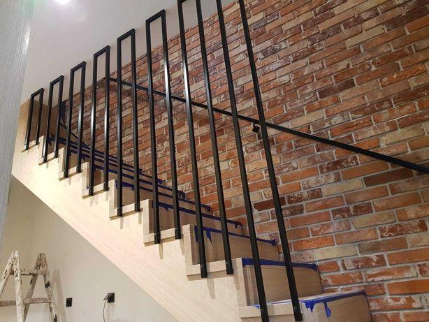 balustrady, bramy wjazdowe, schody stalowe, meble loftowe, antresole