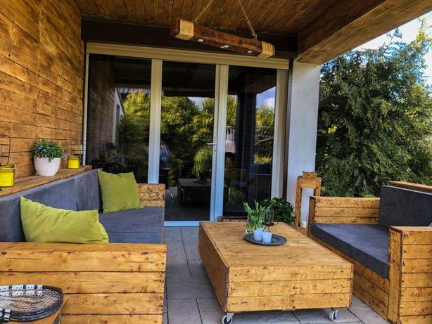 Własnoręcznie wykonane meble ogrodowe meble tarasowe