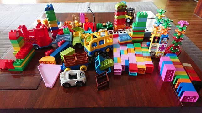 Lego Duplo bardzo duzo klocków , ogromny zestaw