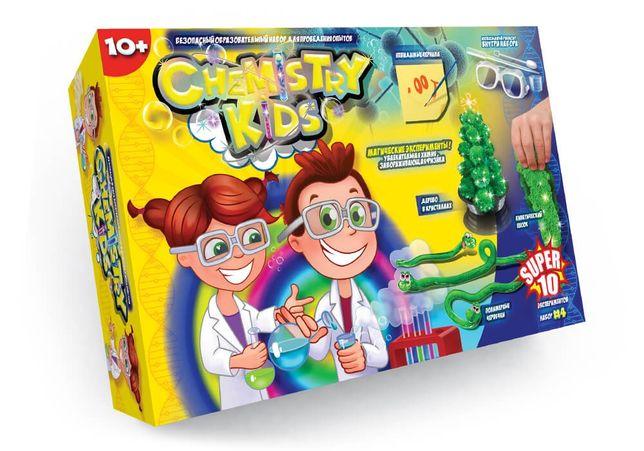 Набор для опытов по химии Chemistry Kids Юный химик Danko Toys химия