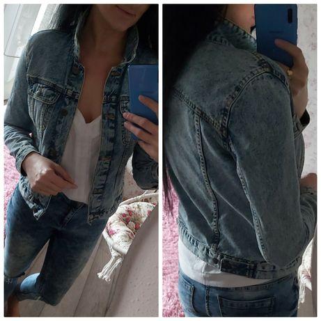 Kurtka jeansowa cropp