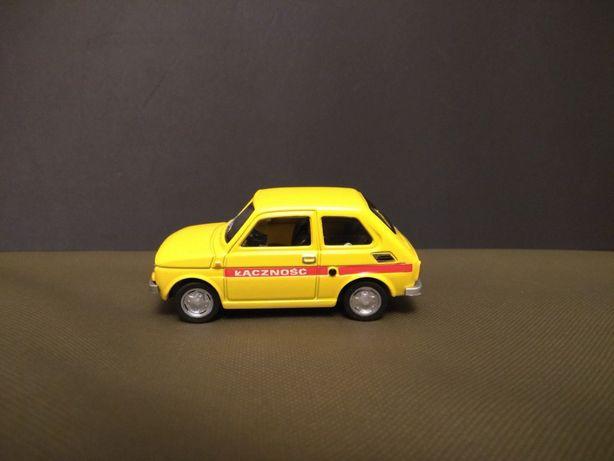 Fiat 126p Łączność Pocztowy Skala 1:43 Konwersja