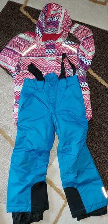 Kombinezon Kurtka spodnie narciarska Lupilu r. 110-116