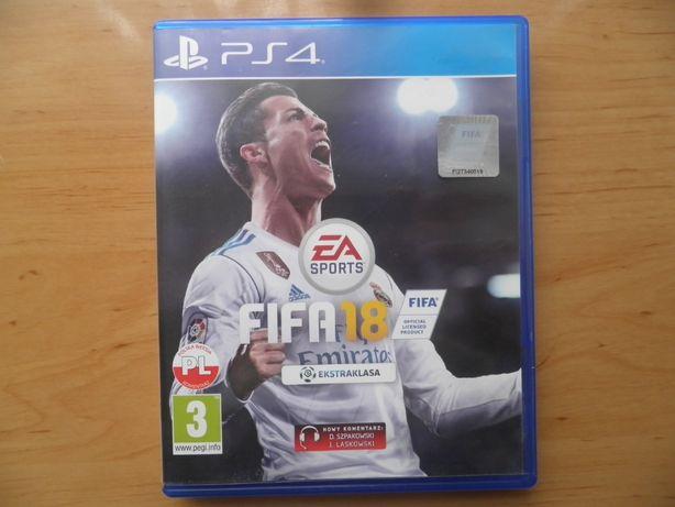 Gra na PS 4 FIFA 18