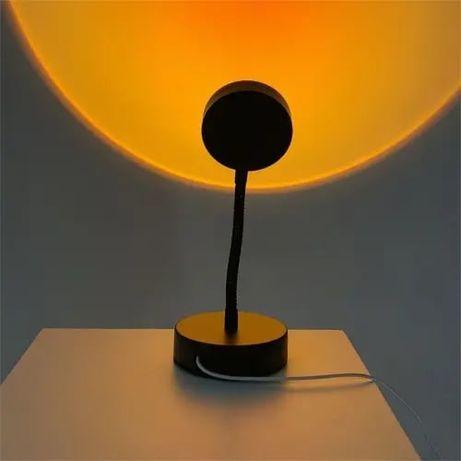 Лампа закат / Лампа для фотографий /Проектор заката/Тикток/sunset lamp