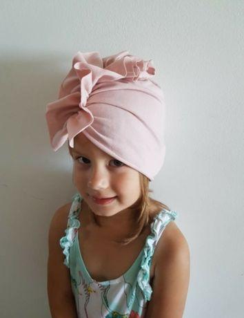 Czapka turban welur dresówka różne wzory rozmiary