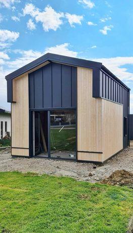 Dom 35 m2 z antresolą 5x7 całoroczny bez pozwolenia domek altana