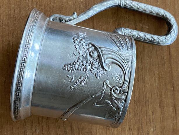 Подстаканник Платиноприбор «Рог изобилия» серебро