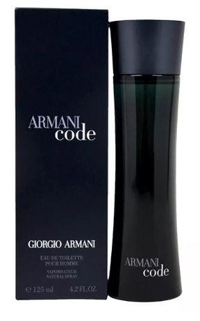 Giorgio Armani Black Code. Perfumy męskie125 ml. EDT. ZAMÓW JUŻ DZIŚ!