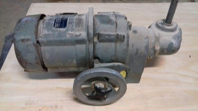 Motor redutor e variador de velocidade