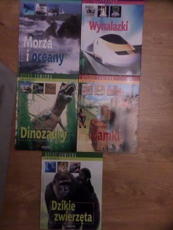 """5 x książki z obrazkami dla dzieci """"atlas juniora"""""""