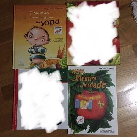 PACK 2 livros infantil criança disney e outros
