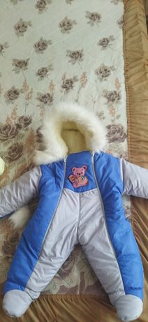 Зимний Комбинизон от 0-3