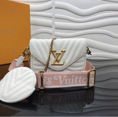 Torebka Biala Louis Vuitton