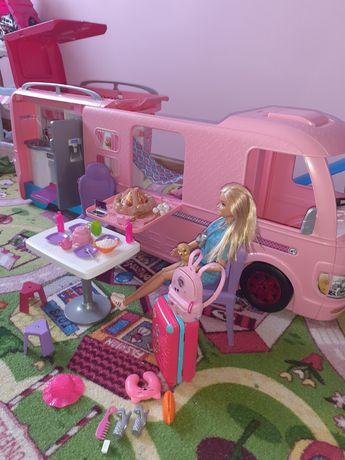 Kamper dla Barbie + barbie podróżniczka