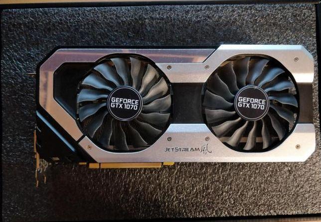 Palit Geforce GTX 1070 Jetstream 27000 руб