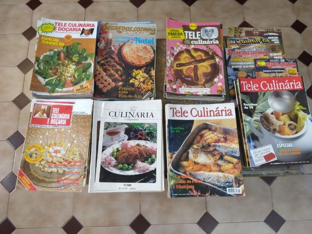 Revistas Tele Culinária de 1980 a 1990