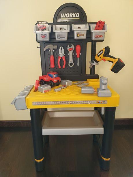 WORKO Warsztat narzędzia dla chłopców SMOBY
