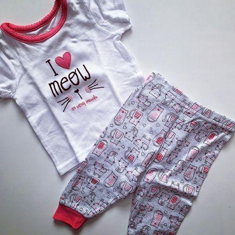 Костюм комплект штаны и футболка летний на девочку h&m next reserved