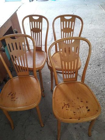 Sprzedam krzesła drewniane PRL