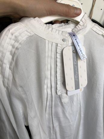 Нежно кремовая блузка Mayoral 6л
