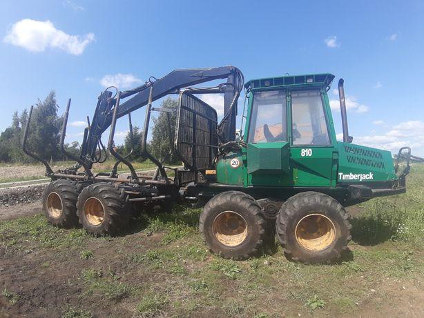 Timberjack Forwarder 810 ciągnik leśny maszyna leśna przyczepa ZAMIANA