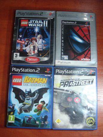 Playstation 2 zestaw 4 gier