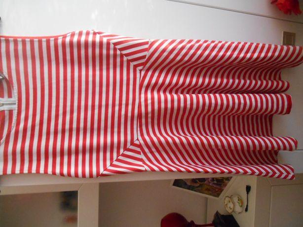 sukienka w paski H&M roz M/L