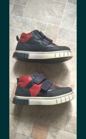 Кожаные ботинки Турция кожа кроссовки