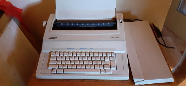 Elektryczna maszyna do pisania Samsung SQ-1000