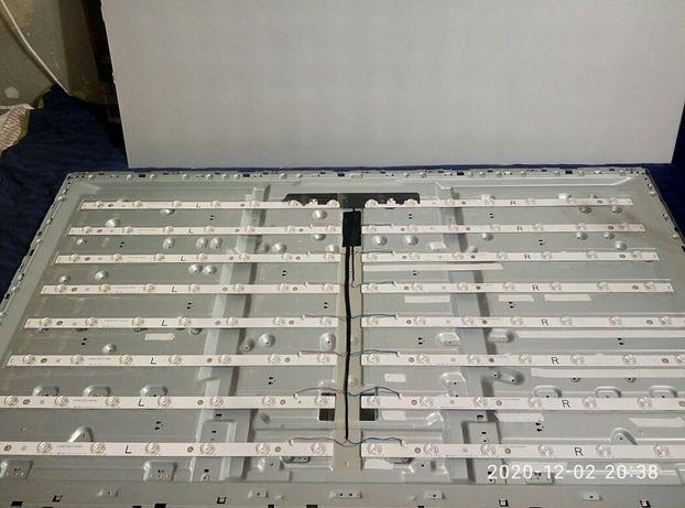 Светодиодная подсветка LG, Samsung - замена на Новый комплект в сборе.