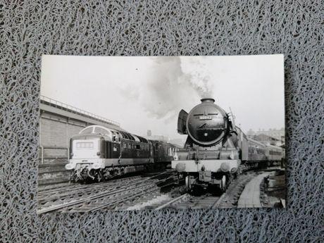 Sprzedam stare angielskie zdjęcie kolei