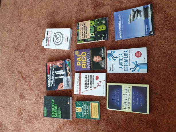 Pack livros gestão e Marketing essenciais