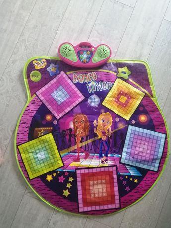 Танцевальный коврик игрушка музыкальная