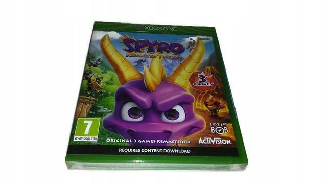 Spyro Reignited Trilogy Polski Dubbing Xbox One