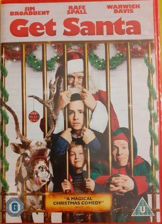 Get Santa DVD, nowa zafoliowana płyta, wersja angielska