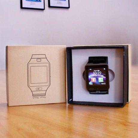 Smartwatch DZ09 com oferta carregador power bank