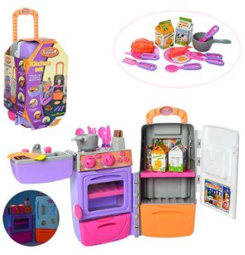 Детская кухня в чемодане на колесах