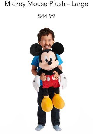 Микки маус большой 70см. Mickey mouse Disney оригинал